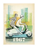 Scooter Girls Posters par  Anderson Design Group