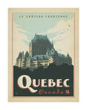 Quebec, Canada Affiches par  Anderson Design Group