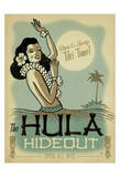 The Hula Hideout Prints by  Anderson Design Group