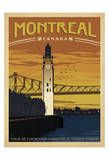 Montreal, Canada Posters by  Anderson Design Group