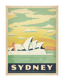Sydney, Australie Affiches par  Anderson Design Group