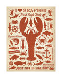 I Love Seafood (Lobster) Prints by  Anderson Design Group