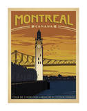 Montreal, Canada Prints by  Anderson Design Group