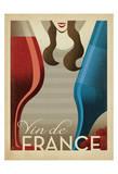 Vin de France Plakater af Anderson Design Group