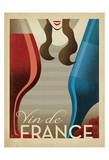 Vin de France Prints by  Anderson Design Group