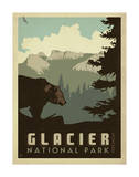 Glacier National Park Prints by  Anderson Design Group