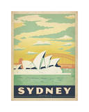 Sydney, Australia Giclee Print by  Anderson Design Group