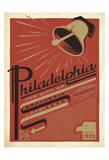Philadelphia, Pennsylvania: The City Of Brotherly Love Art by  Anderson Design Group