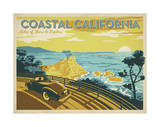 Coastal California: Miles Of Shore To Explore Prints by  Anderson Design Group