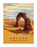 Arches National Park, Utah Posters av  Anderson Design Group