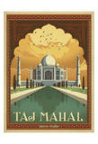 Taj Mahal, Inde Affiches par  Anderson Design Group