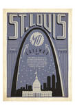 St. Louis, Missouri: Gateway City Posters by  Anderson Design Group