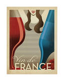 Vin de France Poster by  Anderson Design Group