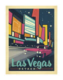 Las Vegas, Nevada Prints by  Anderson Design Group