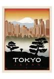 Tokyo, Japon Affiches par  Anderson Design Group