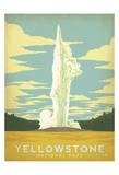 Parque Nacional de Yellowstone Lámina por Anderson Design Group