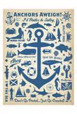 Anchors Away! Affiches par  Anderson Design Group