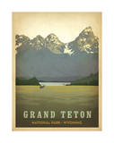 Grand Teton National Park, Wyoming Posters af Anderson Design Group