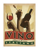 Vino Italiano Art by  Anderson Design Group