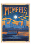 Anderson Design Group - Memphis, Tennessee: Home Of The Blues - Sanat
