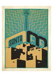 Santa Fe, New Mexico Posters por Anderson Design Group