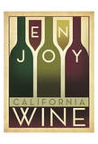 Enjoy California Wine Prints by  Anderson Design Group