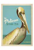 The Pelican Seaside Pub Poster par  Anderson Design Group