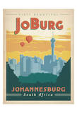 Visit Beautiful Johannesburg, South Africa Lámina por Anderson Design Group