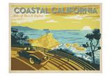 Anderson Design Group - Coastal California: Miles Of Shore To Explore Umělecké plakáty