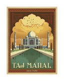Taj Mahal, India Posters by  Anderson Design Group