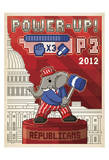 Power-Up! (Elephant) Poster by  Anderson Design Group