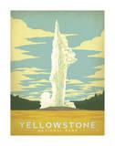 Yellowstonen kansallispuisto Poster tekijänä  Anderson Design Group