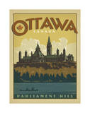 Ottawa, Canada Prints by  Anderson Design Group