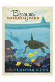 Biscayne National Park In The Florida Keys Plakat af Anderson Design Group