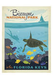 Biscayne National Park In The Florida Keys Poster autor Anderson Design Group