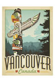 Vancouver, Canada Print by  Anderson Design Group