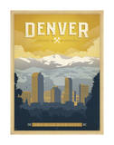 Denver: The Mile High City Prints by  Anderson Design Group