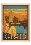 Chicago: Navy Pier Prints by  Anderson Design Group