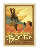 Boston, Massachusetts Posters af Anderson Design Group