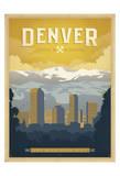Anderson Design Group - Denver: The Mile High City Plakát