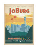 Visit Beautiful Johannesburg, South Africa Plakat af Anderson Design Group