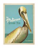 The Pelican Seaside Pub Posters par  Anderson Design Group