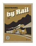 Travel by Rail Posters by  Anderson Design Group