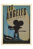 Los Angeles, California: The City of Angels Print by  Anderson Design Group
