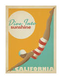 Dive Into Sunshine: California Posters by  Anderson Design Group