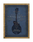 Nashville, Tennessee (Blue Mandolin) Art by  Anderson Design Group