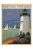 Martha's Vineyard, Massachusetts (Lighthouse) Affiches par  Anderson Design Group
