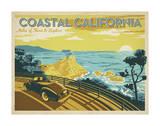 Anderson Design Group - Coastal California: Miles Of Shore To Explore Plakát