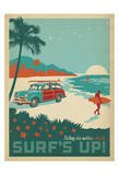 Nothing Else Matters When The Surf's Up! Art by  Anderson Design Group
