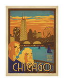 Chicago: Navy Pier Poster by  Anderson Design Group